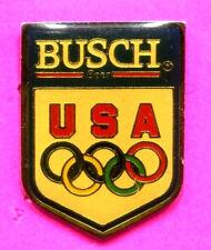 1988 SEOUL OLYMPIC PIN BUSCH BEER PIN BADGE USA NOC TEAM USA PIN