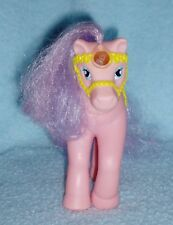 Vintage Buddy L Corp - Pink Pony - Yellow Saddle & Molded Bridle on Head