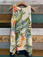 Tommy Bahama Madeira Blooms Shift Dress Size Small