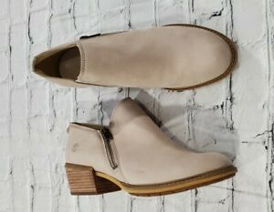 Timberland Sutherlin Bay Mule Clog Beige Leather Bootie OA2B16 WOMENS SIZE 9.5