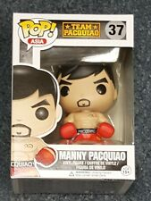 Funko POP Asia Manny Pacquiao Boxing Red shorts #37 MINT w/ .5 Protector