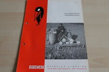 144121) Rabewerk Spatenkrümler Spatenrollegge Prospekt 08/1965