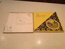 BNIB Ladies Vintage Handkerchiefs From Old Stock Embroidered  Lace Floral