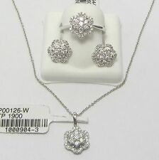 18 Carat White Gold Fine Diamond & Gemstone Jewellery Sets