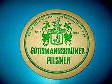 Bierdeckel Gottsmannsgrüner Pilsner von Koch'sche Brauerei Gottsmanngrün Bayern