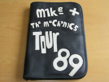 MIKE & THE MECHANICS - LEATHER CREW WALLET 1989 TOUR - BY CARLOS FALCHI  (PROMO)