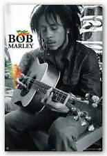 Bob Marley Smoke Guitar Music Poster Print 24x36 Official 24902 New