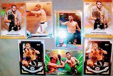 Topps Chrome Khabib Nurmagomedov Green Refractor SP 7 CARD LOT!! UFC 🔥 🔥 🔥 🔥