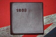 Vintage 1983 Czechoslovakia calendar mini book