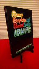 Games Graphics and Sound for the IBM PC 1983 paperback Strickland Prentice Hall