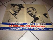 LA COLLINA DEL DISONORE SEAN CONNERY FOTOBUSTA SIDNEY LUMET