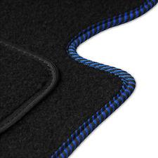Velours dunkelblau Fußmatten für FORD Fiesta MK3 GFJ 89-96