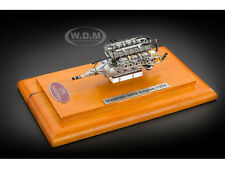 1956 MASERATI 300S ENGINE WITH SHOWCASE 1/18 DIECAST MODEL BY CMC 110