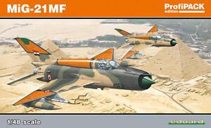 Eduard 1/48 Model Kit 8231 Mikoyan MiG-21MF Fishbed Profipack