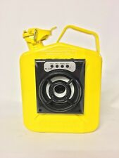 Jerry Can Bluetooth Speaker With Inbuilt Battery Mancave Garage Yellow