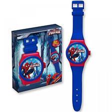 Marvel Comics Spiderman Jumbo Gran Colgante Reloj De Pulsera Dormitorio De Estilo Reloj De Pared