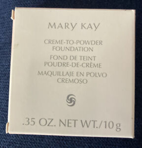 MARY KAY Crème-to-Powder Foundation BEIGE 1 NEW IN BOX!