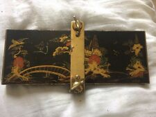 1920s Chinese lacquer style tie press