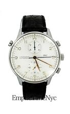 IWC PORTUGUESE IW3712-02 SPLIT SECOND MANUAL MENS WATCH CHRONOGRAPH 40MM