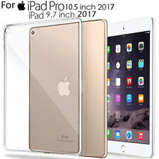 "For iPad Pro 10.5""/9.7"" 2017,Clear Ultral Slim Fit Silicone Soft TPU Case Cover"