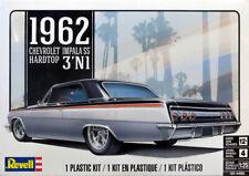1962 Chevrolet Impala SS Hardtop 3'N1 in 1:25 Model Kit Bausatz Revell 4466