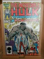 Marvel Comics INCREDIBLE HULK #324, 1st App of Returned Grey Hulk, Key Issue