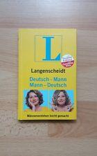 Langenscheidt  Deutsch  -  Mann  Mann  -  Deutsch  Mario  Barth
