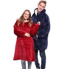 Winter Sherpa Blanket With Sleeve Ultra Plush Blanket Hoodie Warm Flannel Hooded
