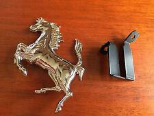 "FERRARI 308 GRILL BADGE! 110mm Prancing Horse 308GTS 308GTB 308GT4 Cavallino 4"""
