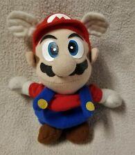 "Vintage Nintendo 64 Flying MARIO Super Mario Bros 6"" Beanbag Plush Toy Doll BD&A"
