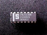 74LS138N - Signetics 1-of-8 Decoder/Demultiplexer  74LS138 (DIP-16)