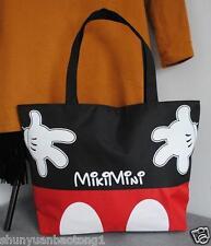 Women Canvas Mickey Mouse Tote Bag Shoulder Bag Handbag Shopping Bag School bag