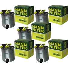 5x MANN-FILTER Kraftstofffilter Fuel Filter WK 9007