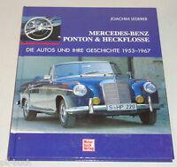 Illustrato: Mercedes Benz Ponton E Pinna Posteriore - La Automobili E Tue Storia