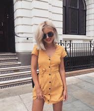 *LAST ONE* OLD HAVANA DRESS (YELLOW) SPRING/SUMMER STYLE! SIZE 6
