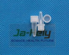 3000pcs/lot 0.2ml PCR tube micro centrifuge tube with screw cap for lab