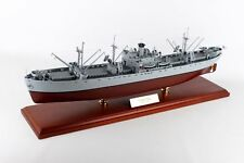 US Navy Liberty Class Naval Cargo Ship MBRLIBTR Wood WWII Model  Boat Assembled