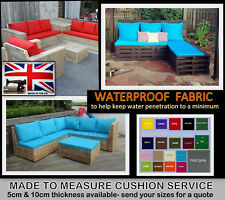 MADE 2 MEASURE CUSHIONS FABRIC SAMPLES & QUOTE PALLET RATTAN GARDEN FURNITURE