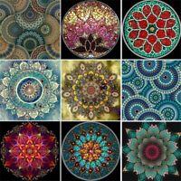 Mandala flowers 5D Diamond Painting Embroidery Full Drill Cross Stitch Arts