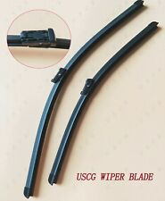Windshield Wiper Blades For Mercedes-Benz C Class 2013 2014 OEM Quality NEW USCG