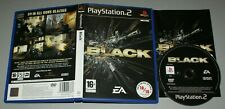 Black - PS2 Sony Playstation Two Game - PAL complete - Shooter EA
