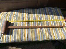 Croquet mallet - vintage - Antique
