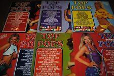 LOT 6 X LP VINYL *TOP OF THE POPS* DISQUES 33 TOURS