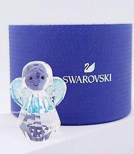 New SWAROVSKI 5533945 Rocking Angel Sparkling Crystal Figurine Display Collector