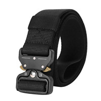 JASGOOD Mens Tactical Belt Military Heavy Duty Nylon Belts 1.5in Riggers Belts