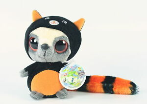 """YOOHOO and friends HALLOWEEN WITCH'S BLACK CAT 5"""" wannabe plush soft toy - NEW!"""