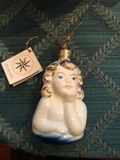 vintage christopher radko christmas ornaments Cherub Angel Cupid Rare Collectors