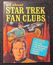 1976 All About STAR TREK Fan Clubs Magazine #1 FN 6.0 Fanzines / Biographies