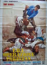 FBI OPERATION PAKISTAN KOMMISSAR X Italian 4F movie poster 55x79 1971 CIRIELLO