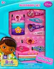 Disney Junior Doc McStuffins: 20 Piece Hair Accessory Box Set (Clips, Barrettes,